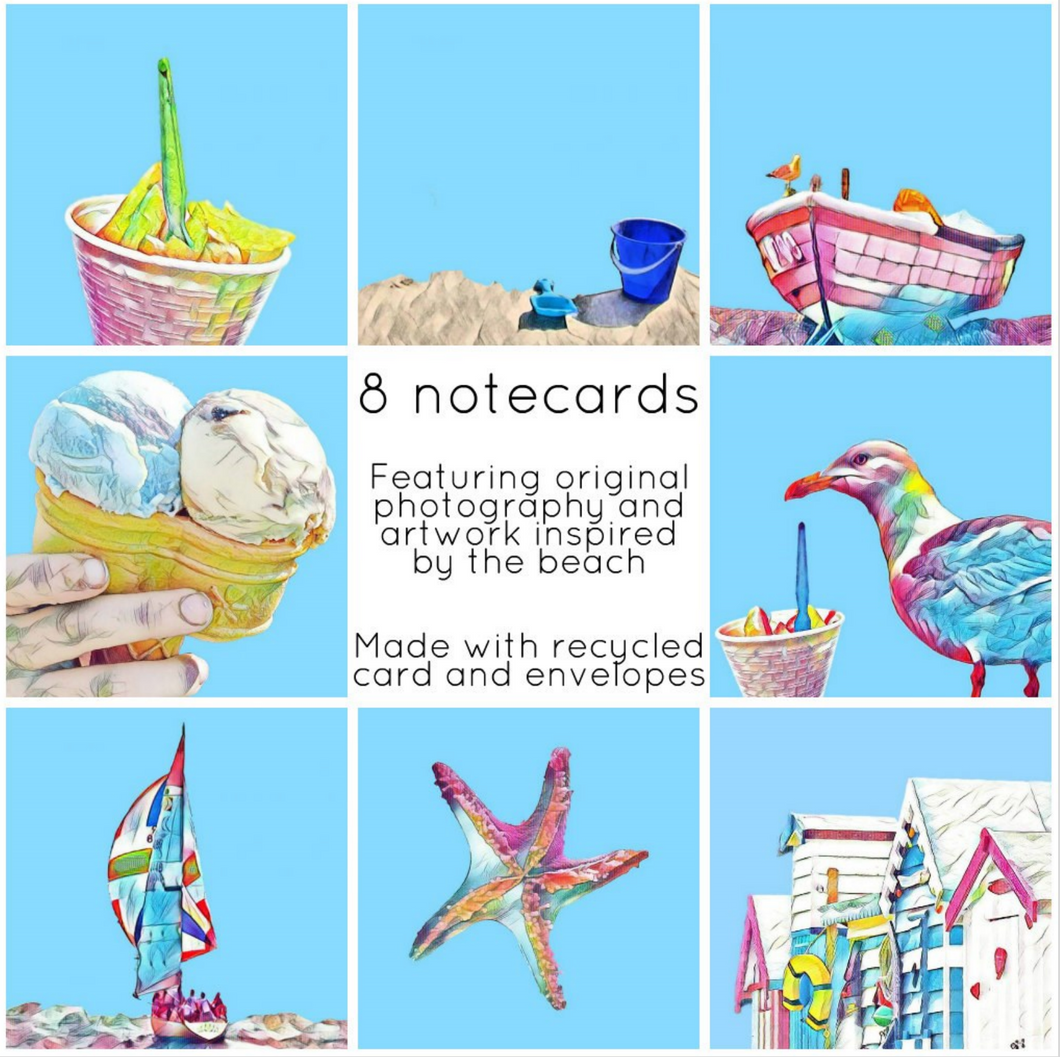 Beach collection - Eco Friendly Card