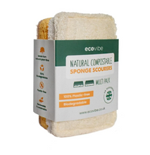 Load image into Gallery viewer, Compostable Sponge & Scourer Duo Pack