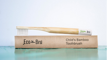 Load image into Gallery viewer, Children's Bamboo Toothbrush White
