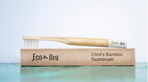 Children's Bamboo Toothbrush White
