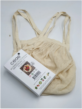 Load image into Gallery viewer, 100% ORGANIC COTTON-MINI STRING BAGS (2PCS PACK)