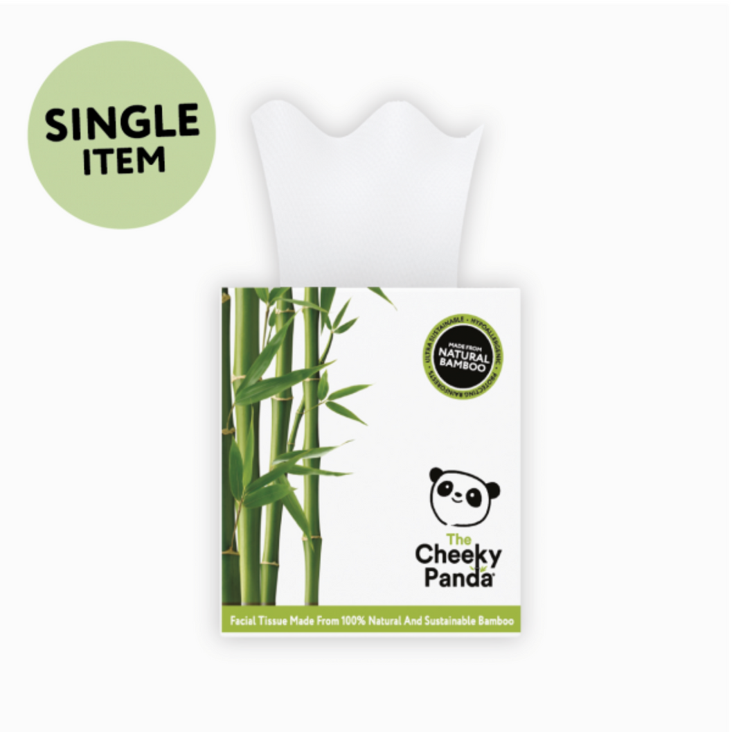 Single Pack of Bamboo Facial Tissue