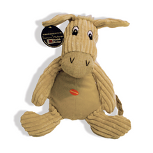 Load image into Gallery viewer, Danish Design Doris The Natural Donkey Plush Dog Toy