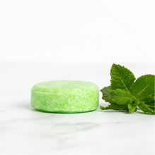 Load image into Gallery viewer, Peppermint & Tea Tree Solid Shampoo Bar