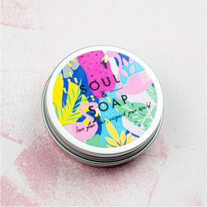 Soul and Soap Shampoo/Conditioner Bar Travel Tin