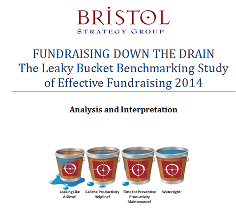 Fundraising Down the Drain: The Leaky Bucket Benchmarking Study of Effective Fundraising 2014