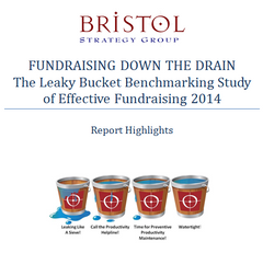 Fundraising Down the Drain: The Leaky Bucket Benchmarking Study of Effective Fundraising 2014 Report Highlights