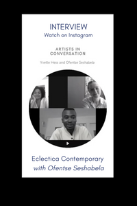 Watch: Interview Eclectica Contemporary with Ofentse Seshabela