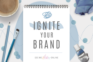 Ignite Your Brand- Starter Kit- Logo and limited original graphics
