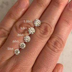 Loose Round Moissanite