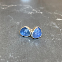 Load image into Gallery viewer, Cornflower Blue Sapphire Studs