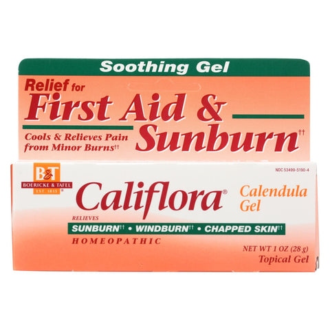 Boericke And Tafel - Califlora Calendula Gel - 1 Oz