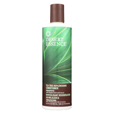 Desert Essence - Tea Tree Replenishing Conditioner Therapeutic - 12.9 Fl Oz