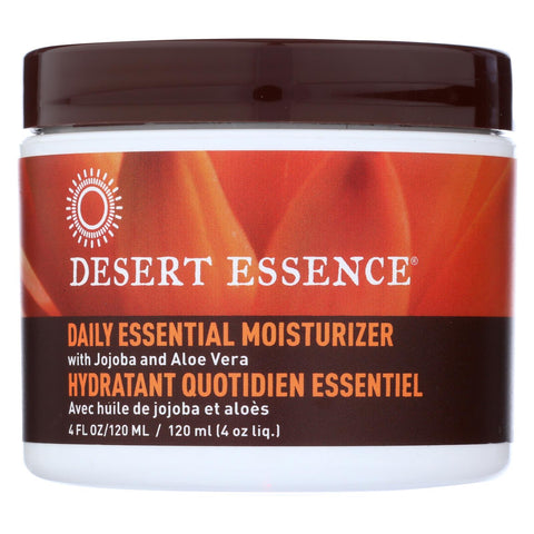 Desert Essence - Facial Mositurizer - Daily Essential - 4 Fl Oz