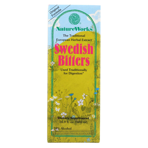 Nature Works Swedish Bitters - 16.9 Fl Oz