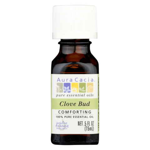 Aura Cacia - Essential Oil - Clove Bud - .5 Oz
