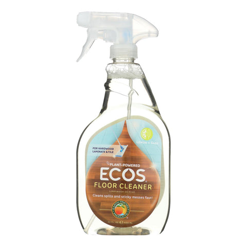 Earth Friendly Floor Cleaner - Lemon Sage - Case Of 6 - 22 Fl Oz.