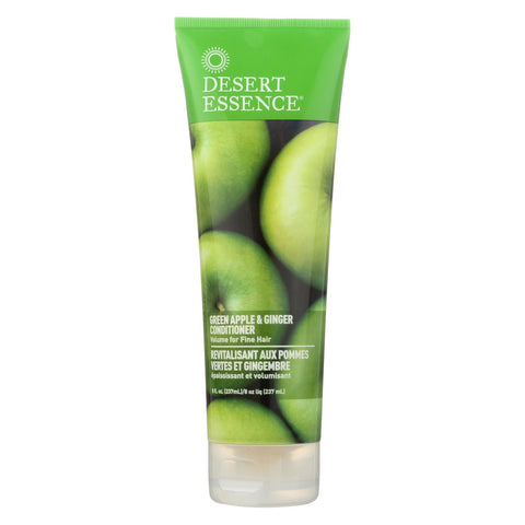 Desert Essence - Thickening Conditioner Green Apple And Ginger - 8 Fl Oz