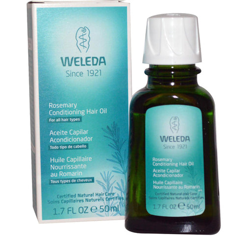 Weleda Hair Oil - Conditioning - Rosemary - 1.7 Fl Oz