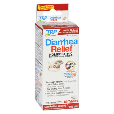 Trp Diarrhea Relief - 50 Tablets