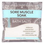 Soothing Touch Bath Salts - Muscle Soak - Case Of 6 - 8 Oz