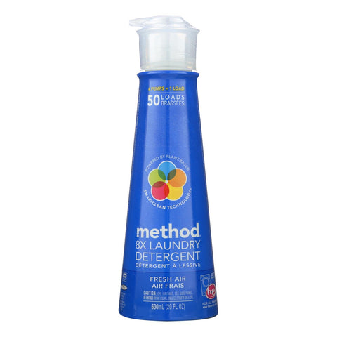 Method Products Laundry Detergent Refill - Fresh Air - Case Of 6 - 20 Fl Oz.