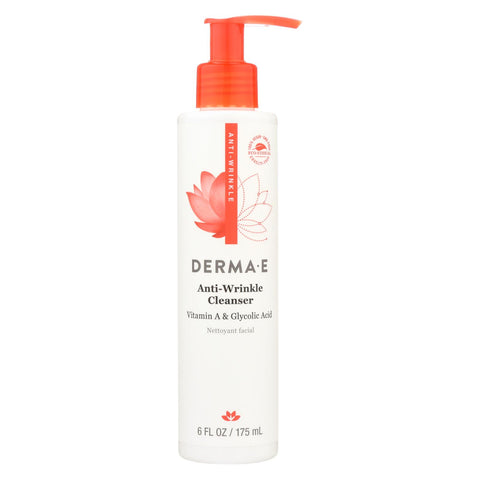 Derma E - Vitamin A Glycolic Cleaners - 6 Fl Oz.