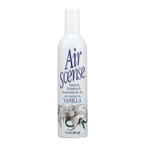 Air Scense - Air Freshener - Vanilla - Case Of 4 - 7 Oz