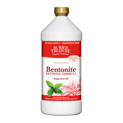 Buried Treasure - Bentonite Detox Formula - 32 Fl Oz