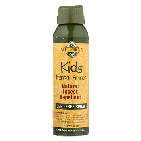 All Terrain - Herbal Armor Natural Insect Repellent - Kids - Cont Spry - 3 Oz