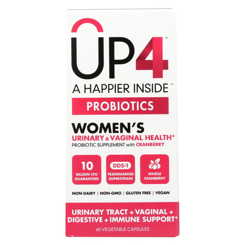 Up4 Probiotics - Dds1 Womens - 60 Vegetarian Capsules