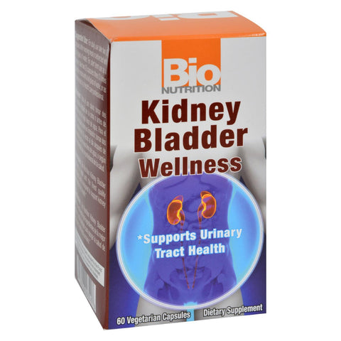 Bio Nutrition - Kidney Bladder Wellness - 60 Vegetarian Capsules