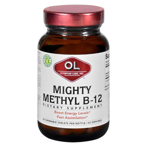 Olympian Labs Vitamin B-12 - Mighty Methyl B-12 - 60 Tablets