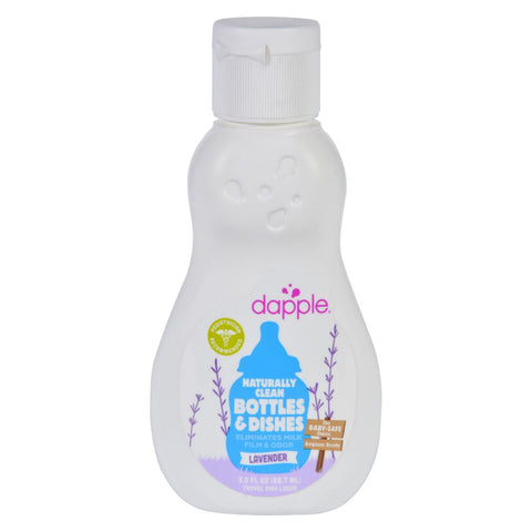 Dapple Baby Bottle And Dish Liquid - Lavender - Travel Size - 3 Oz