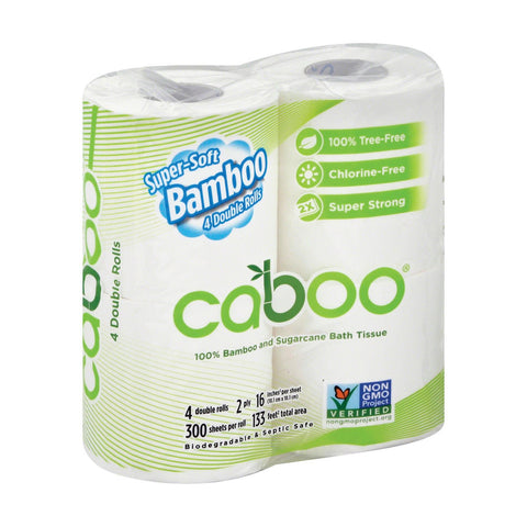 Caboo - Bathroom Tissue - Case Of 10