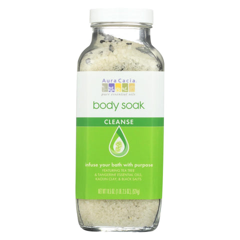 Aura Cacia - Body Soak - Cleanse - 18.5 Oz - 1 Each