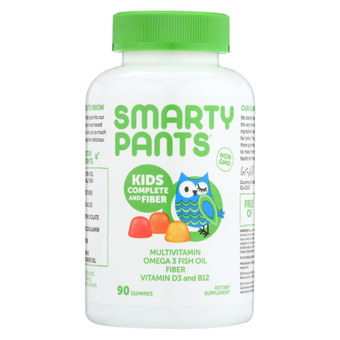 Smartypants Gummy Vitamin - Multi - Kid + Fiber - 90 Count