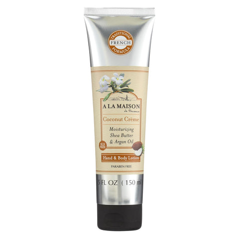 A La Maison - Hand And Body Lotion - Coconut Creme - 5 Fl Oz