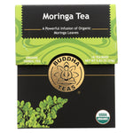 Buddha Teas - Organic Tea - Moringa - Case Of 6 - 18 Bags