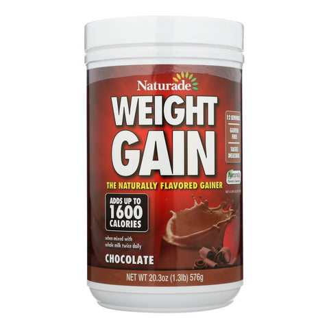 Naturade - Weight Gain - Chocolate - 20.3 Oz