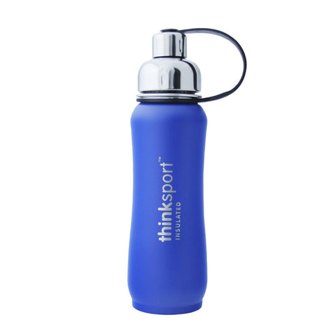 Thinksport  17oz (500ml) Insulated Sports Bottle - Blue