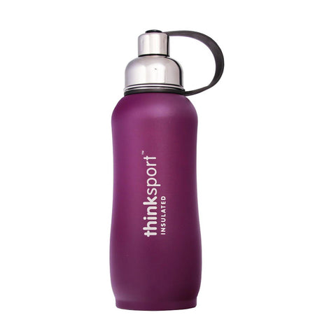 Thinksport  25oz (750ml) Insulated Sports Bottle - Purple