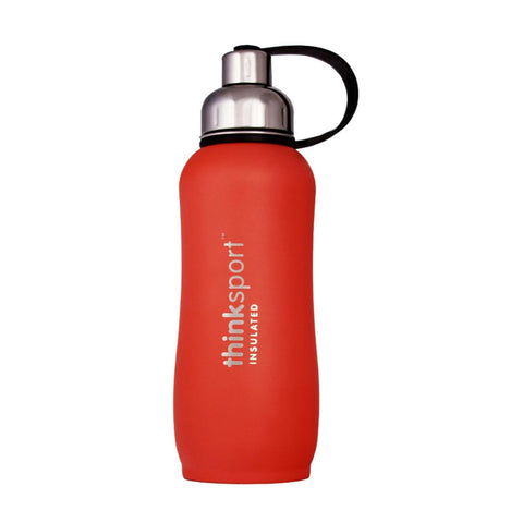 Thinksport  25oz (750ml) Insulated Sports Bottle - Orange