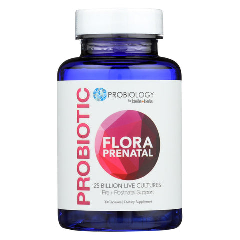 Belle And Bella - Probiotic Prenatal Flora - 30 Count