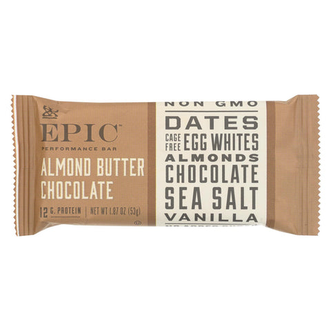 Epic - Bar Performance Almond Butter Chocolate - Ea Of 9-1.87 Oz