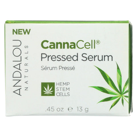 Andalou Naturals - Cannacell Pressed Serum - 0.45 Oz.