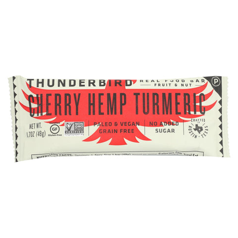 Thunderbird - Real Food Bar - Cherry Walnut Cinnamon - Case Of 15 - 1.7 Oz.