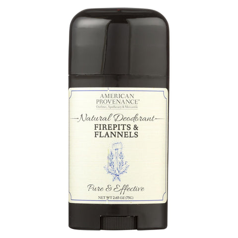 American Provenance - Deodorant - Firepits And Flannels - 2.65 Oz.