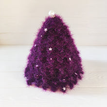 Load image into Gallery viewer, Purple Christmas tree