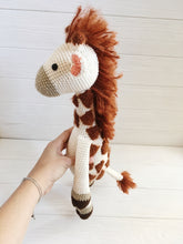 Load image into Gallery viewer, Amigurumi giraffe